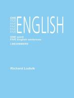 One Five English I