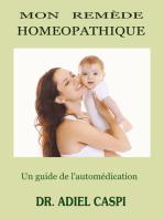 Mon remede homeopathique
