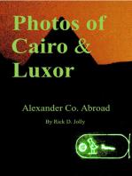 Photos of Cairo & Luxor