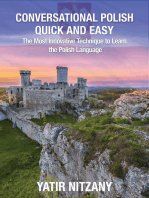Conversational Polish Quick and Easy