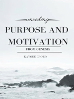 Unveiling Purpose and Motivation from Genesis