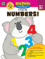 I Know My Numbers!, Ages 3 - 5