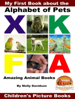My First Book about the Alphabet of Pets