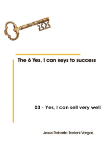 03: Yes, I can sell very well