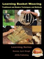 Learning Basket Weaving