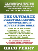 The Ultimate Direct Marketing, Copywriting, & Advertising Bible