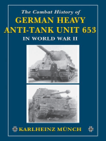 The Combat History of German Heavy Anti-Tank Unit 653