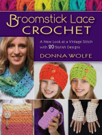Broomstick Lace Crochet