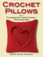 Crochet Pillows with Tunisian & Traditional Techniques