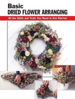 Basic Dried Flower Arranging