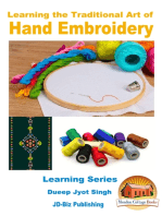 Learning the Traditional Art of Hand Embroidery