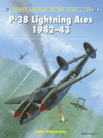 P-38 Lightning Aces 1942–43