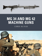 MG 34 and MG 42 Machine Guns
