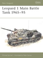 Leopard 1 Main Battle Tank 1965–95