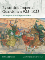 Byzantine Imperial Guardsmen 925–1025