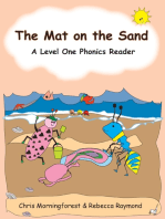 The Mat on the Sand - A Level One Phonics Reader