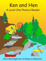 Ken and Hen - Level 1 Phonics Reader