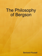 The Philosophy of Bergson