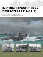 Imperial Japanese Navy Destroyers 1919–45 (2)