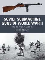 Soviet Submachine Guns of World War II