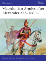 Macedonian Armies after Alexander 323–168 BC