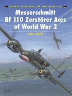 Messerschmitt Bf 110 Zerstörer Aces of World War 2