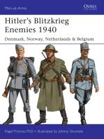 Hitler's Blitzkrieg Enemies 1940