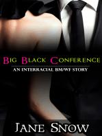 Big Black Conference (Interracial BMWF Erotica)