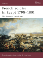 French Soldier in Egypt 1798–1801
