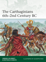 The Carthaginians 6th–2nd Century BC