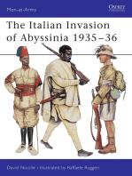 The Italian Invasion of Abyssinia 1935–36