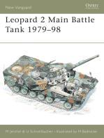 Leopard 2 Main Battle Tank 1979–98