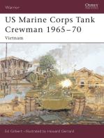 US Marine Corps Tank Crewman 1965–70