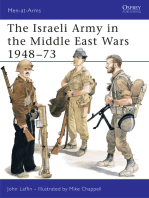 The Israeli Army in the Middle East Wars 1948–73