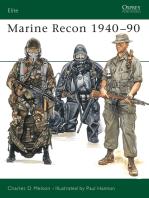 Marine Recon 1940–90