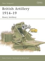 British Artillery 1914–19
