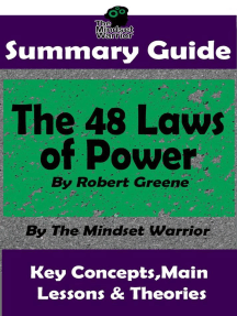Summary Guide: The 48 Laws of Power by Robert Greene | The Mindset Warrior Summary Guide