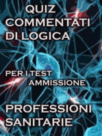 Esercizi Commentati Test Professioni Sanitarie Logica
