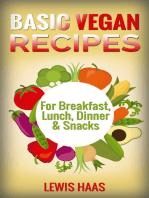 Basic Vegan Recipes