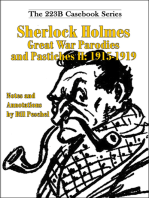 Sherlock Holmes Great War Parodies and Pastiches II