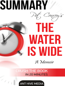 Pat Conroy's The Water is Wide A Memoir Summary