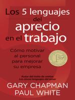 Los 5 lenguajes del aprecio en el trabajo