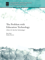 The Problem with Education Technology (Hint