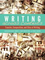 Writing across Contexts