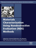 Materials Characterization Using Nondestructive Evaluation (NDE) Methods