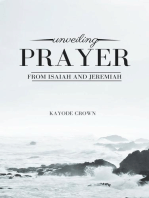Unveiling Prayer From Isaiah and Jeremiah