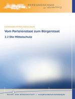 Vom Parteienstaat zum Bürgerstaat – 2.2 Die Mittelschule