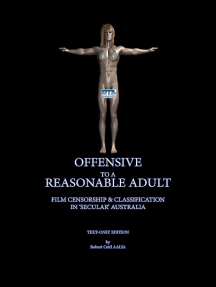 Offensive to a Reasonable Adult