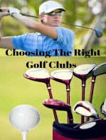 Choosing the Right Golf Clubs