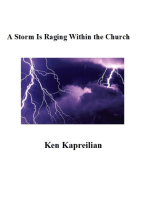 A Storm Is Raging Within the Church